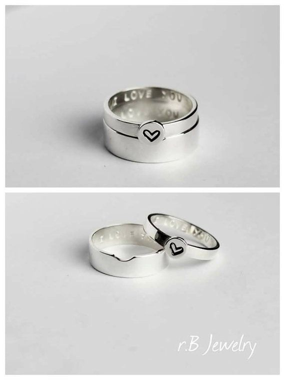 25+ best ideas about Promise rings for couples on