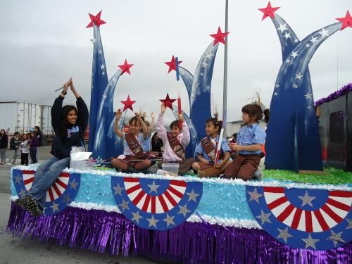 41 best images about Patriotic Floats on Pinterest
