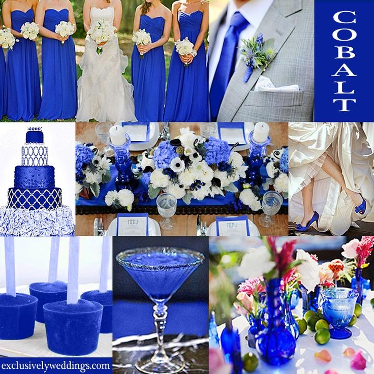 25 best ideas about Cobalt Blue Weddings on Pinterest  Cobalt wedding Royal blue bridesmaids