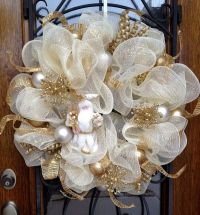 1000+ ideas about Mesh Wreath Tutorial on Pinterest   Deco ...