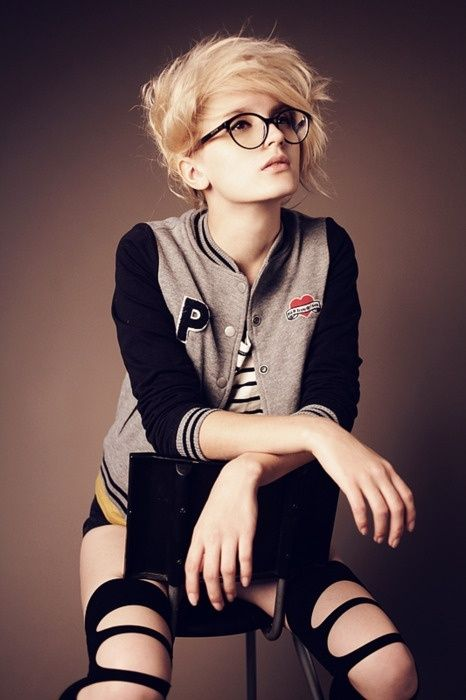 25 Best Ideas About Hipster Girl Hair On Pinterest Hipster