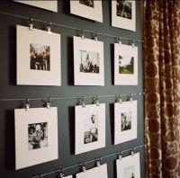 mats, wire, clips. art display.   Walls   Pinterest ...