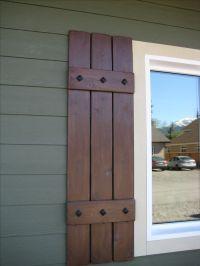 17+ best ideas about Cedar Shutters on Pinterest   Wood ...