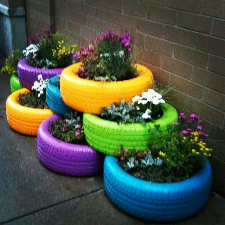 25 Best Ideas About Tire Planters On Pinterest Tires Ideas