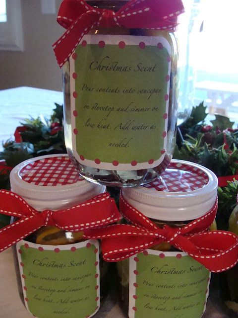 Christmas Scent… {how to do it} ohhh.. i am going to make some for me and some