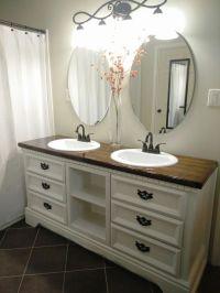 Best 25+ Dresser sink ideas on Pinterest | Dresser vanity ...