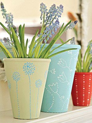 25 Best Ideas About Paint Flower Pots On Pinterest Painting