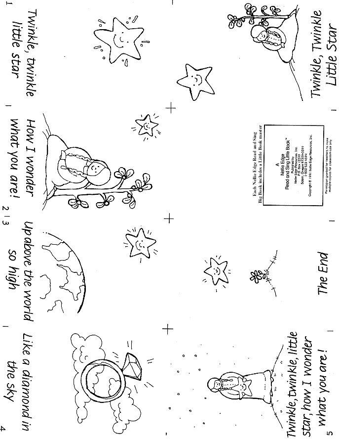 Free Little Book of twinkle twinkle little star