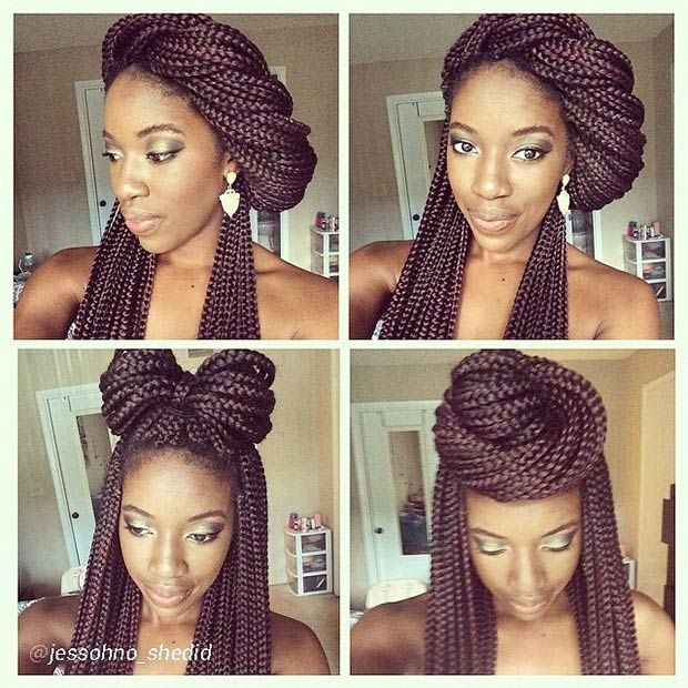 90 Best Images About Updo Hairstyles Using Braiding Hair On