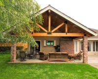 Traditional Patio Covered Patio Design, Pictures, Remodel ...