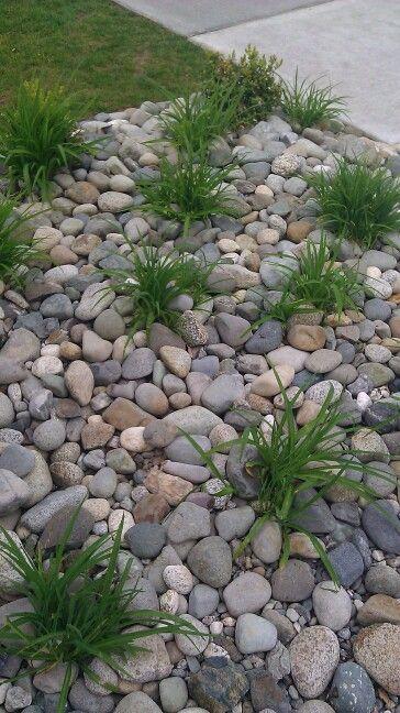 25 Best Ideas About Rock Flower Beds On Pinterest Landscape