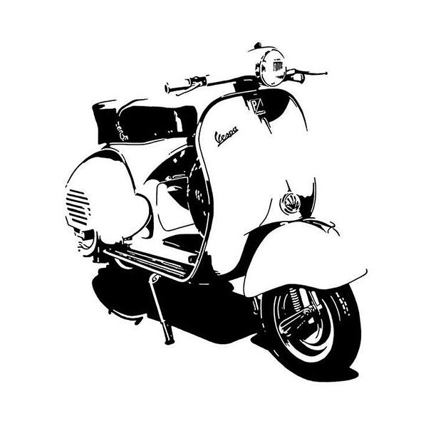 537 best images about Vintage 1960's motorscooters on