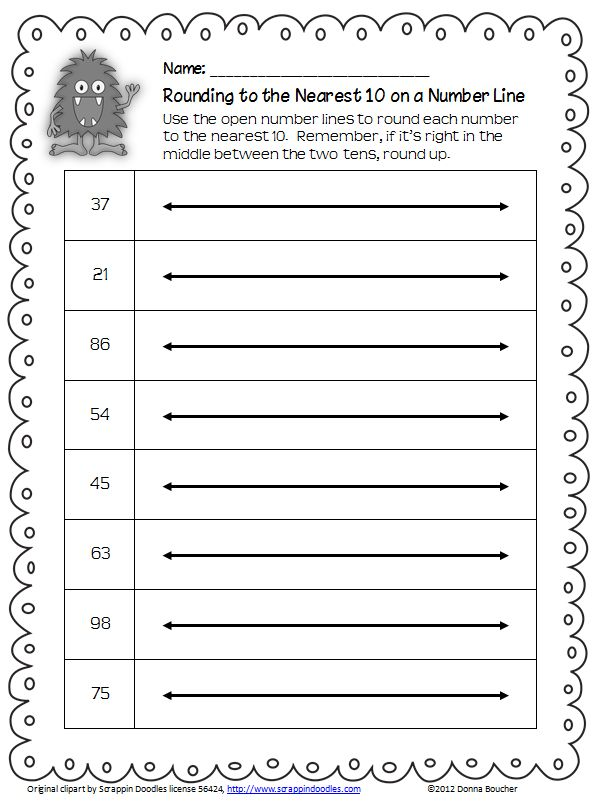 17 Best Images About Teach Rounding Math 3rdgrade On