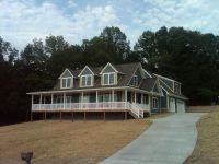 Custom Cape Cod-style Modular Home on Norris Lake in TN ...