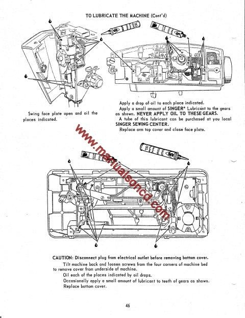 1113 best images about Sewing Machine Manuals on Pinterest