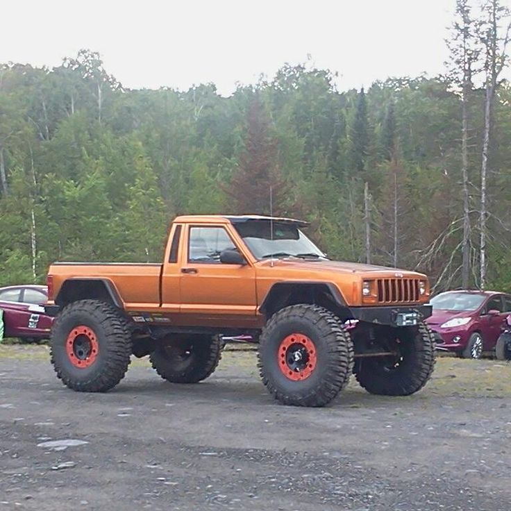 61 best images about Jeep Comanche on Pinterest  4x4 Cherokee and Jeep truck