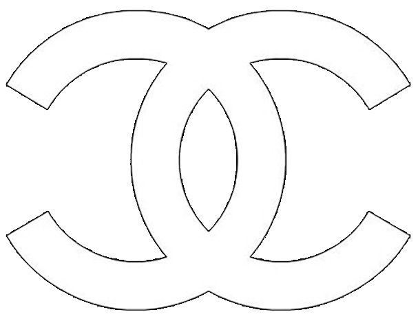 68 best chanel printable logos images on Pinterest