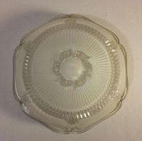 Antique Round Frosted Clear Glass Ceiling Light Cover ...