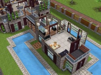 sims freeplay houses building designs tutorial play level modern layouts idea simsfreeplay casas case minecraft mansions