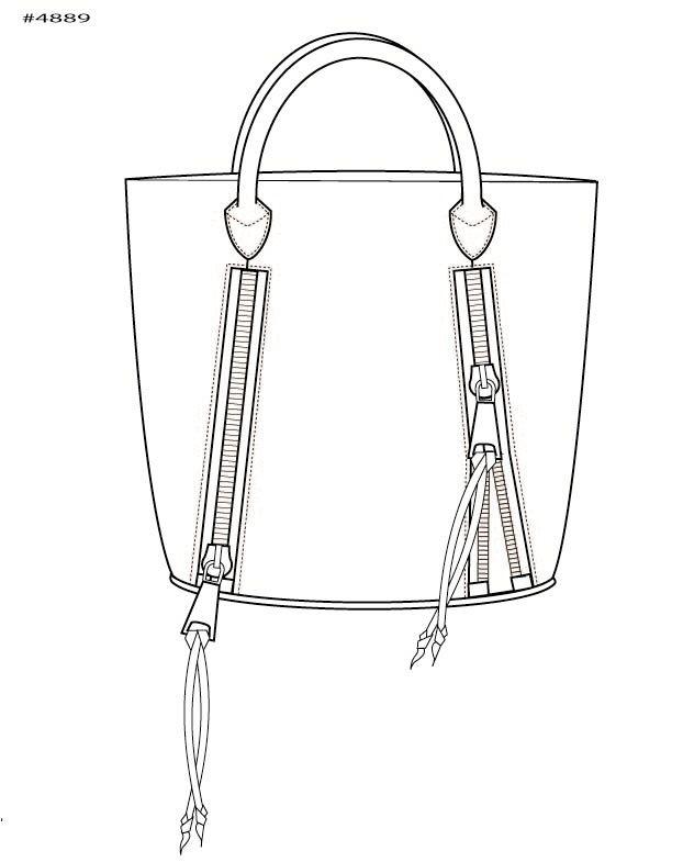 17 Best images about Bag design sketches on Pinterest