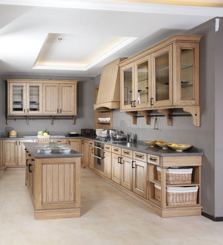 1000 ideas about Solid Wood Kitchen Cabinets on Pinterest