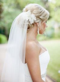 Best 25+ Wedding hairstyles veil ideas only on Pinterest
