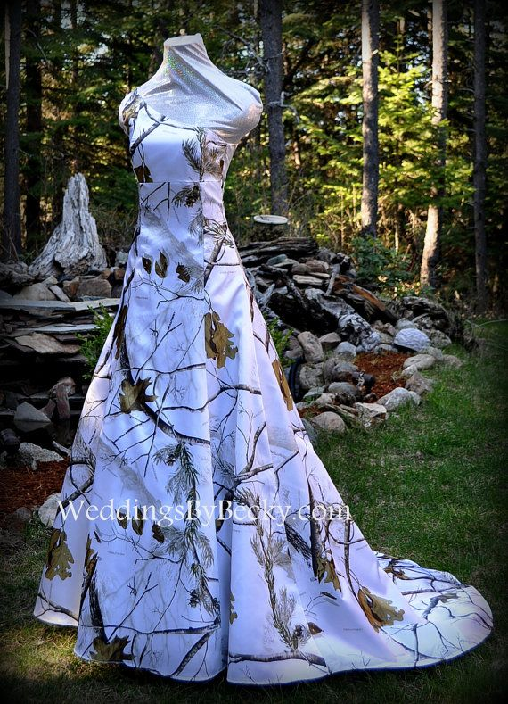 1000 ideas about Camo Wedding Dresses on Pinterest  Camo