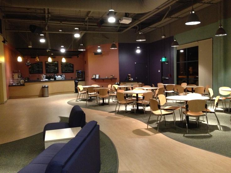 Gateway City Church  cafe  Church lobby design
