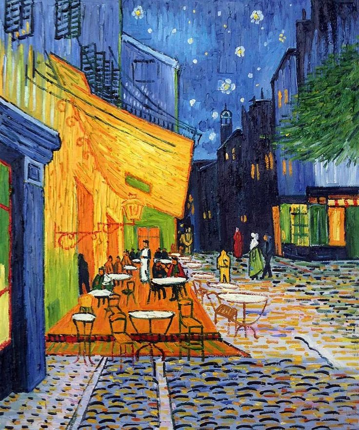 Vincent Van Gogh Cafe Terrace at Night is the worlds most popular 1 oil painting in 2015