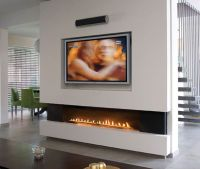 65 best Linear Fireplaces images on Pinterest
