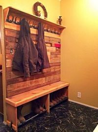 17 Best ideas about Coat And Shoe Rack on Pinterest