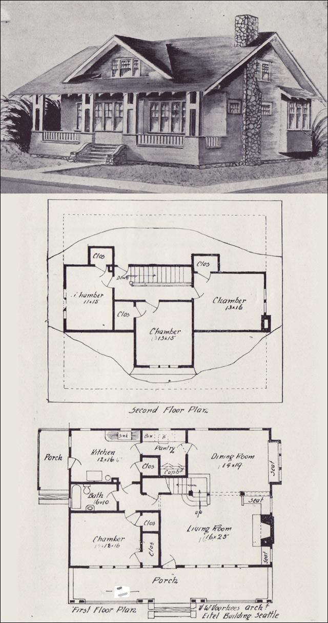 1000+ ideas about Vintage House Plans on Pinterest
