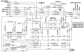 cub cadet wiring diagram lt1045 of circulatory system printable lt 1050 also ...