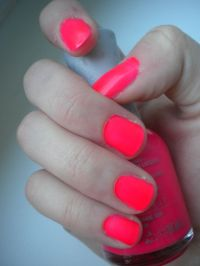 Orly Passion fruit | Neon pink nails, Polish and Love this