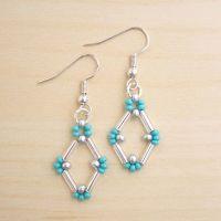 Best 25+ Beaded earrings ideas on Pinterest