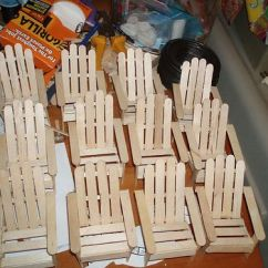Walmart Adirondack Chairs Kmart Table And Set How To Make A Beach Chair Out Of Popsicle Sticks - Woodworking Projects & Plans