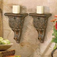 Tuscan Wall Shelves | My love of Tuscan style | Pinterest ...