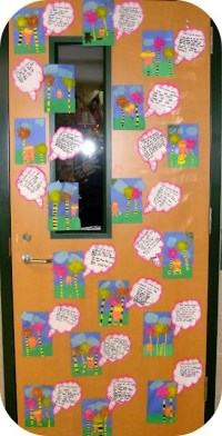 Lorax door decoration | School Bulletin Boards & Classroom ...
