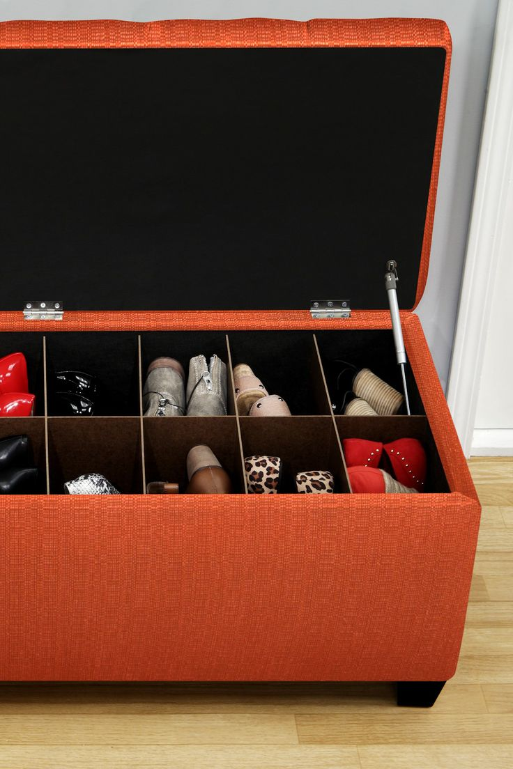 Shoe Storage Bench Could Easily Be Made For Much Cheaper
