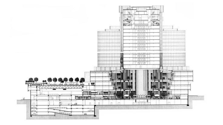 Westin Bonaventure Hotel / John Portman & Associates