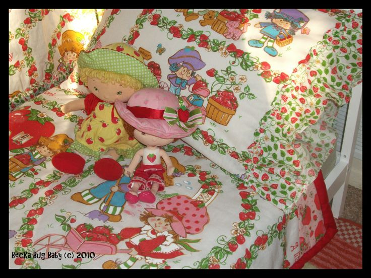 17 Best images about Strawberry Shortcake Bedding on