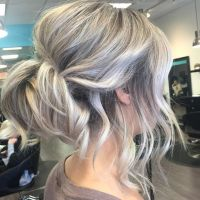 17 Best ideas about Shoulder Length Hair Updos on