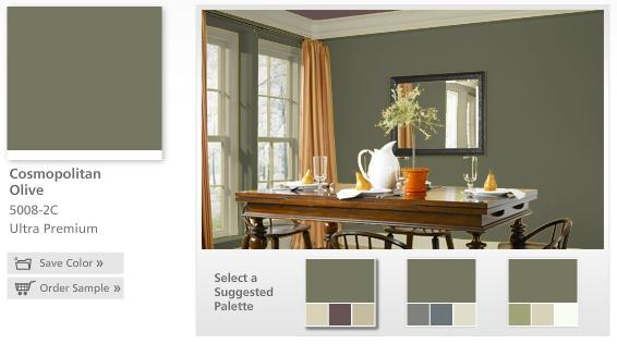 Paint Color Valspar Cosmopolitan Oliveme likey