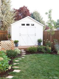 25+ Best Ideas about Shed Landscaping on Pinterest ...