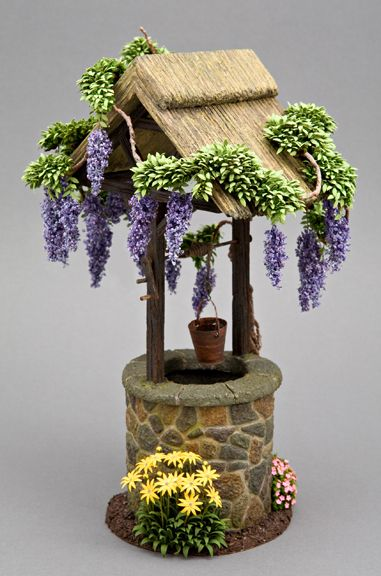Mini Wishing Well Plans Free WoodWorking Projects Amp Plans