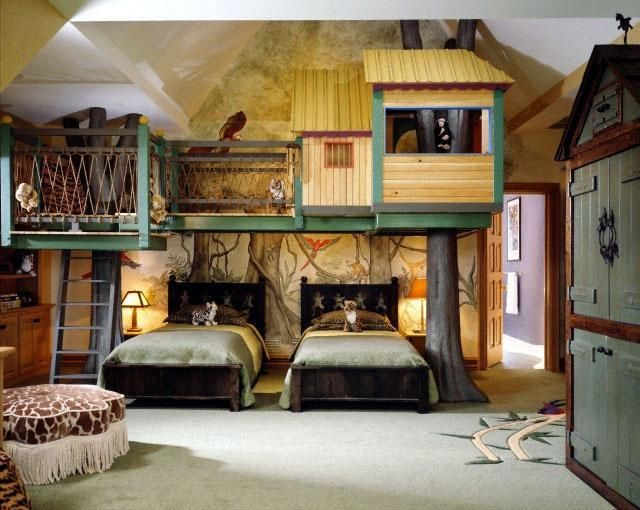 25+ Best Ideas About Tree House Bedrooms On Pinterest