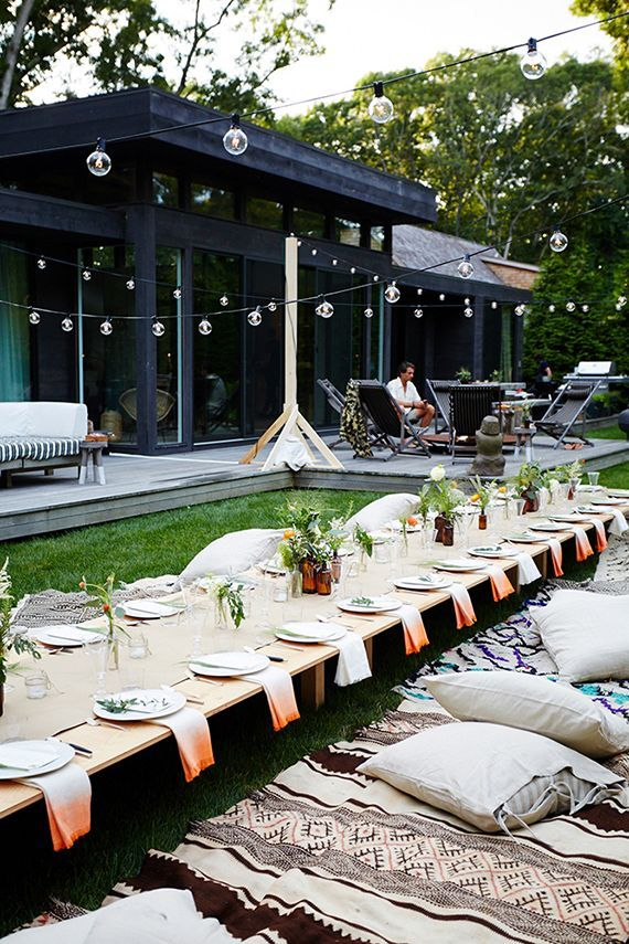 172 Best Images About Outdoor Party Ideas On Pinterest