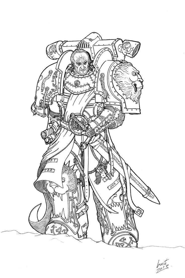 158 best images about Warhammer 40k art on Pinterest