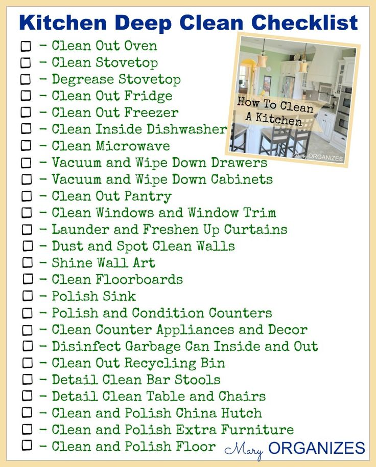 17 Best ideas about Deep Cleaning Checklist on Pinterest  Deep cleaning schedule Deep cleaning