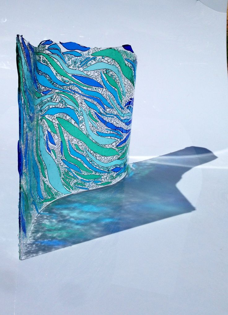 17 Best Images About Waves Fused Glass Ideas On Pinterest Pebble Beach Sculpture And S Curves